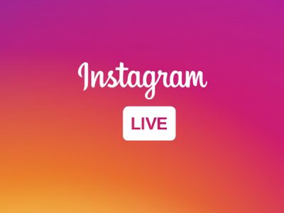"""Instagram logo appears with the """"Live"""" icon."""