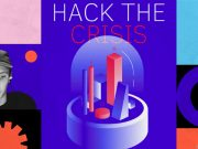 """Event image with the motto of """"Hack the Crisis""""."""