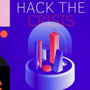 "Event image with the motto of ""Hack the Crisis""."