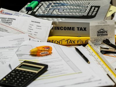 Taxing documents with a calculator